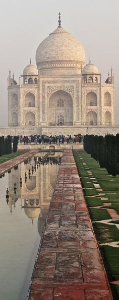 The Taj, Agra, India. by Steve Lewis.