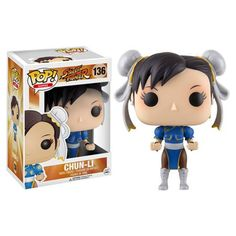 Pre-Order Release Date: November 2016 Pick your character for the ultimate street battle! Based on Capcom's best-selling video game series, Street Fighter, Chun-Li joins the Pop! Vinyl family. Package