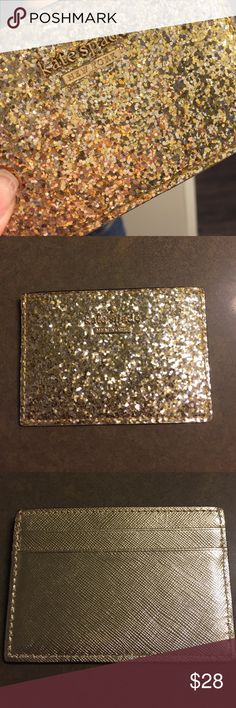 Kate Spade Cardholder Thin cardholder. New. Holds 3 cards. kate spade Bags Wallets