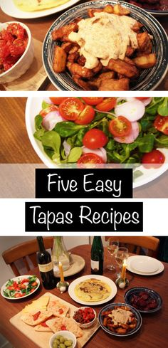 5 Easy Spanish Tapas Recipes - to try this weekend! Tapas Recipes, Wrap Recipes, Vegetarian Recipes, Cooking Recipes, Tapas Food, Tapas Ideas, Easy Recipes, Tapas Party, Paella Party