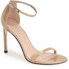 2bb0c6b0f11 Stuart Weitzman  Nudistsong  Ankle Strap Sandal (Women) Ankle Wrap Sandals