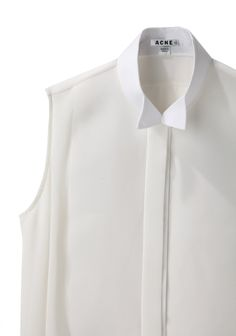 Acne Studios / Sheena Tuxedo Collar Shirt   La Garconne