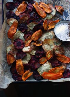 Beetroot, Carrot & Potato Chips