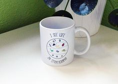 Mug I see life in stratigraphy Cup archaeology