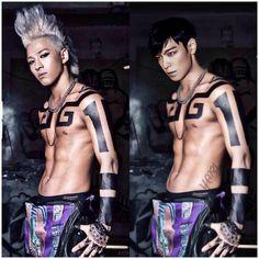 TOP (Choi Seung Hyun) and SOL ♡ #BIGBANG #FUNNY