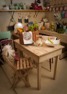 en la cocina de Azcuénaga Tienda Vicente López de petite margot