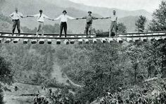 Railroad Track Left Suspended in Mid-Air Following... - Historical Times