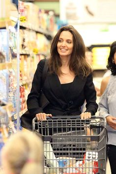 Angelina Jolie Goes Grocery Shopping, Still Manages to Look Incredibly Glam: Pic!