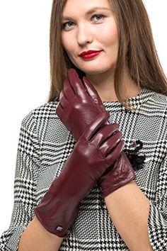 dec6aa328a3fd6 HOCHWERTIGES LEDER-HANDWERK - Die Mio Marino Lederhandschuhe sind aus  erstklassigem Lammfell-Leder gefertigt. Die langärmeligen Handschuhe sind  luxuriös ...