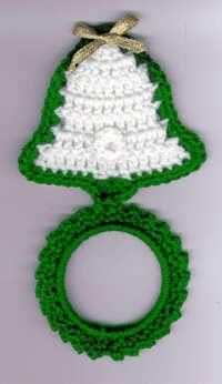 Crochet Pattern set for a holiday towel ring set for each holiday and season throughout the year Crochet Towel Holders, Crochet Dish Towels, Crochet Towel Topper, Crochet Kitchen Towels, Crochet Pillow Pattern, Crochet Dishcloths, Christmas Crochet Patterns, Crochet Christmas Ornaments, Holiday Crochet