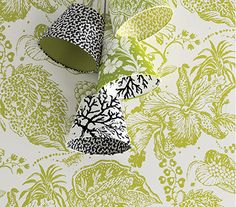 Osborne & Little: MLW2215-03, Louisianne Wallpapers, La favorite