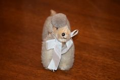 Wonderful Miniature Jointed Mohair Poodle Perfect for Doll Friend Dog