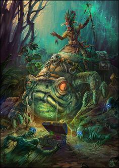 Witch Doctor - Diablo III Fan Art Contest by Kostya-PingWIN on DeviantArt