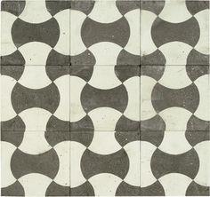 Chartres Encaustic Tile - floor tiles - los angeles - by SOLI Architectural Surfaces