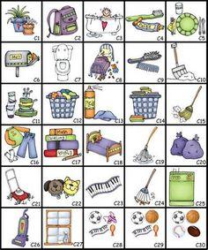 Circular Chore Chart Clip Art - Yahoo Image Search Results