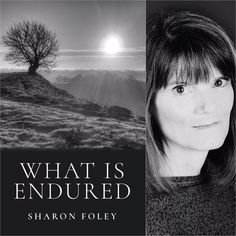 FINISHING LINE PRESS BOOK OF THE DAY: What is Endured by Sharon Foley  $13.99, paper  https://finishinglinepress.com/product_info.php?products_id=2706