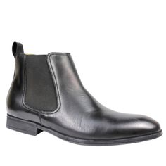 edd2ed17c21a Black Steptronic Mens Ford Chelsea Jodphur Boot available at Shoes GB.