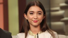 Rowan Blanchard, the 13-year-old star of Disney Channel's Girl Meets World, wrote a short and invigorating essay on intersectional feminism that functions as a reason to hope for our future, a very helpful instructional missive and, maybe, a lesson in the value of Tumblr.