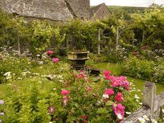 Tretower Court Garden, Wales.