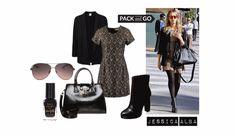 Stylizacja na wiosnę 2015 inspirowana outfitem Jessici Alby.