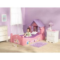 Disney Princess Toddler Beds