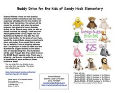 Please order to support the kids of Sandy Hook Elementary.