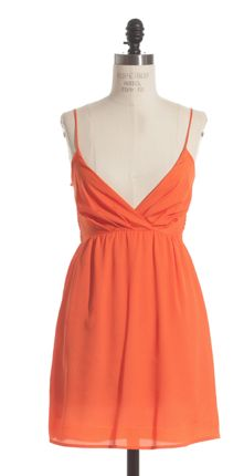 The Love At First Sight Dress in Orange - Adabelle's