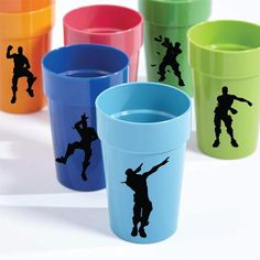 Reusable Fortnite Party Cups Fortnite Party Cups Fortnite | Etsy Drake's Birthday, Happy 10th Birthday, 9th Birthday Parties, Party Gift Bags, Diy Birthday Decorations, Party Cups, Ideas, Dj Party, Ideas Aniversario