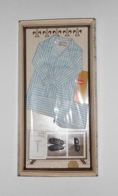 Remco 1963 Dr John Littlechap 1414 Doll Pajama P J Set Mint New RARE | eBay