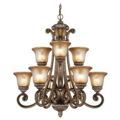 Found it at Wayfair - Carlyle 9-Light Shaded Chandelier