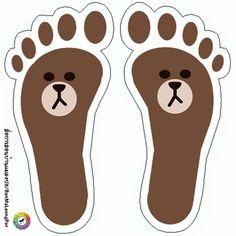 Preschool Games, Activities For Kids, Hand Washing Poster, Gross Motor, Footprint, Decoration, Scooby Doo, Art For Kids, Origami