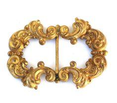 Antique Victorian Art Nouveau Belt or Sash by SellitAgainVintage