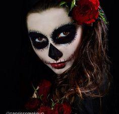 #halloween #zombie #makeup #motivescosmetics little black dress www.ShopBuddyAnna.com