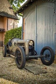 Ruote Rugginose: Richard Scaldwell's 1908/1919 GN JAP V8 Aero