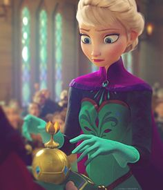 Elsa- Just for the LOLS, but her face is all like, which one goes in which hand again???