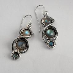 Sterling Silver Earrings / earrings for woman / by Bluenoemi