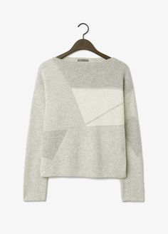 Abstract Jacquard Sweater | Vince