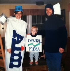 good family costume for the dental hygiene conscious office halloween