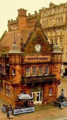 Formerly the entrance to St Enoch station, Glasgow