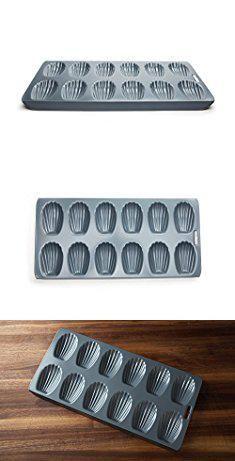 Madeleine Baking Pan. Fox Run 44925 Non-Stick Madeleine Pan, Carbon Steel, 12-Cup.  #madeleine #baking #pan #madeleinebaking #bakingpan