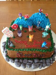 Slugterra Birthday Cake / Slugterra Birthday Party