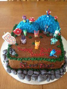 Slugterra Birthday Cake / Slugterra Birthday Party