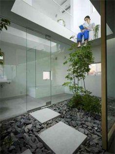 jardin japonais intérieur