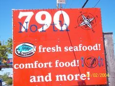 The best flavors of Louisiana And Florida under one roof!!! 790 North in Fort Walton Beach Florida, Very Good Food!!!!