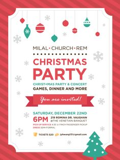 Christmas Party by Kay Chang, via Behance