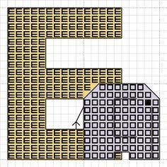 Craft with Ruth Cartwright: Sewing Sunday # 5 - E is for elephant free alphabet cross stitch pattern
