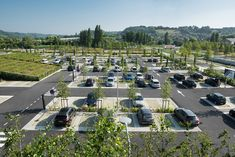 Modern Landscaping Design Steps - - Endless Summer Hydrangea Landscaping - - - Low Maintenance Landscaping On A Budget Curb Appeal Car Park Design, Parking Design, Park Landscape, Landscape Plans, Parking Plan, Car Parking, Honfleur, Low Maintenance Landscaping, Landscape Architecture Design