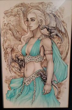 Game of Thrones - Daenerys Targaryen by Siya Oum