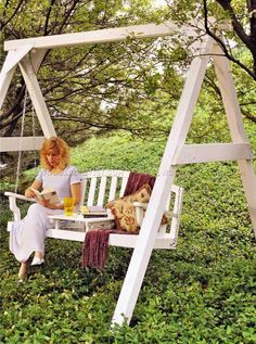Garden Swing Plans - Outdoor Furniture Plans