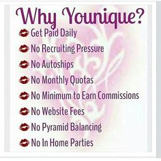 What is the best gift you could give yourself and your family this year? How about freedom. How about not worrying about money all the time. How about having the time to spend together because you aren't tied to a desk working for someone else?  These are the reasons I joined Younique. (Well that and I am addicted to their magic makeup! LOL) MSG me if you want this for your family! https://www.youniqueproducts.com/RYOUFabulash/